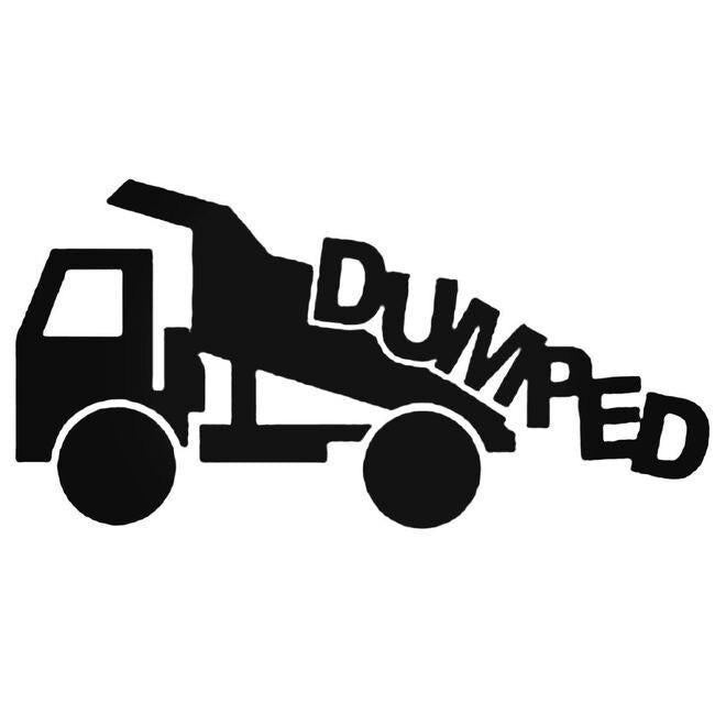 Dumped Decal Sticker