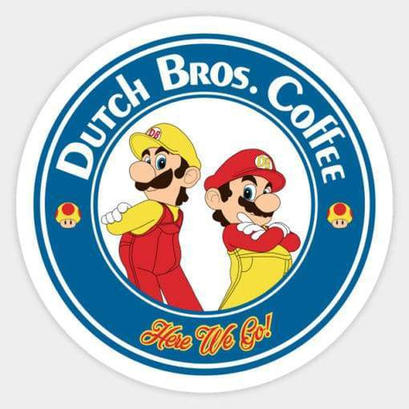 Dutch Bros Coffee Decal Laptop Decals Stickers