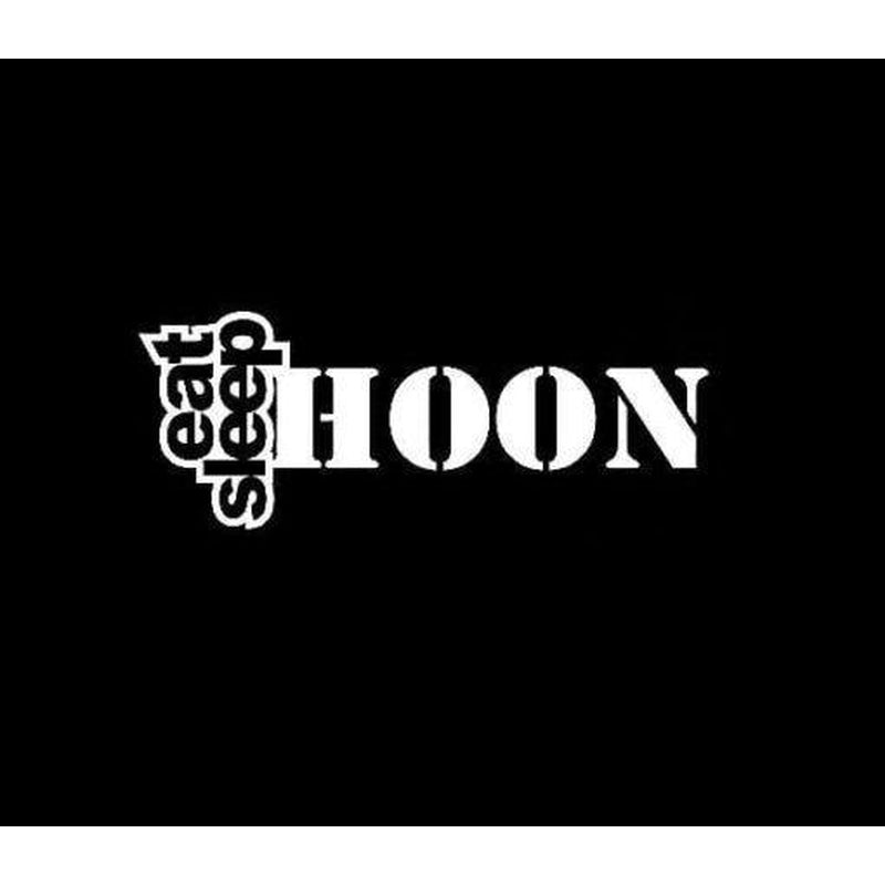 Eat Sleep Hoon JDM Car Window Decal Stickers