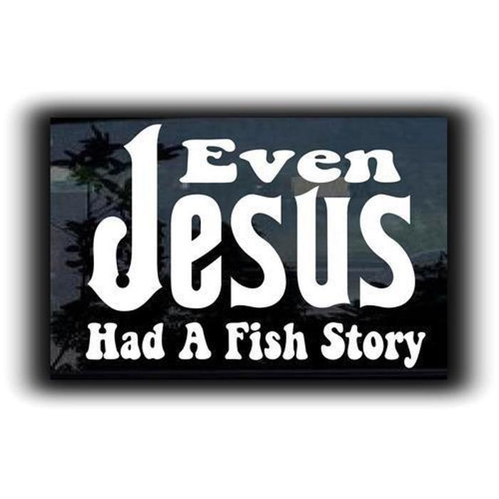 Even Jesus Christian Decal Stickers