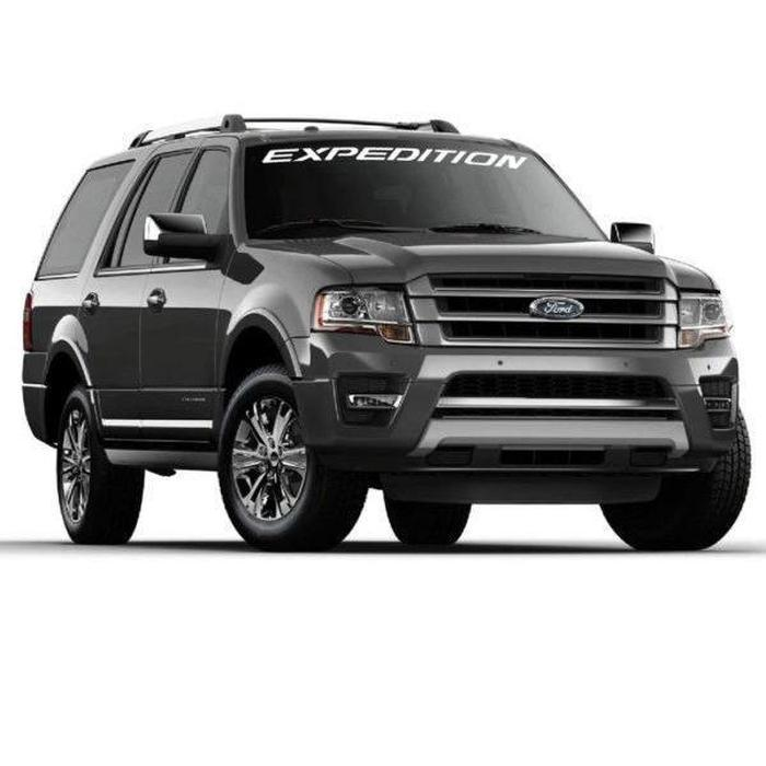 Expedition Ford Windshield Banner Decal Sticker