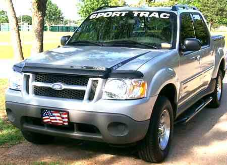 Explorer sport track Ford Windshield Banner Decal Sticker