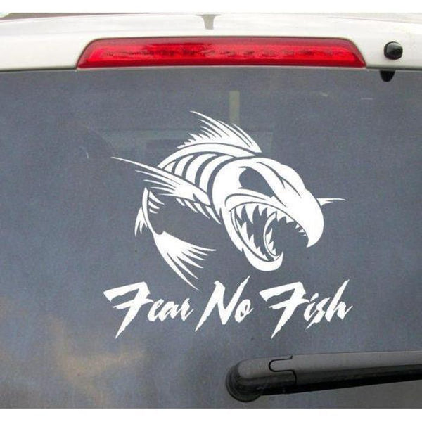 Fear No Fish Fishing Decal Stickers A2