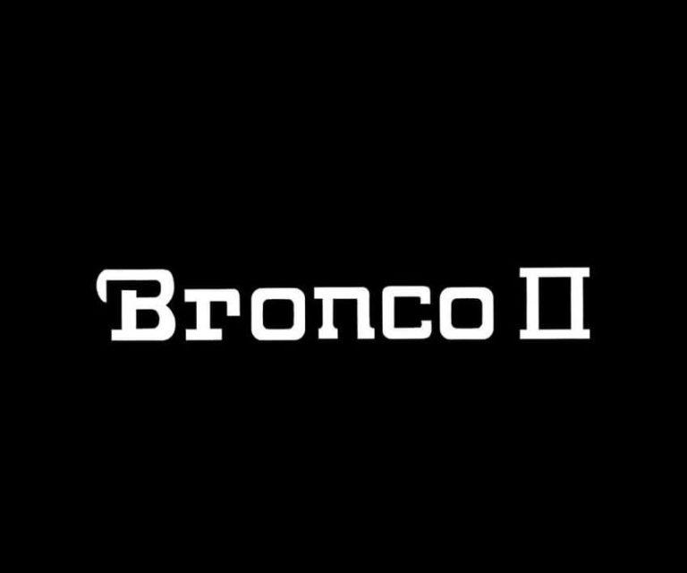 Ford Bronco II Windshield Banner Decal Sticker