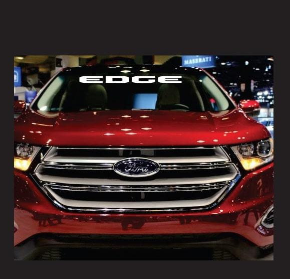 Ford Edge Windshield Banner Decal Sticker
