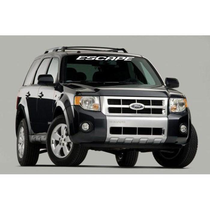 Ford Escape Windshield Banner Decal Sticker