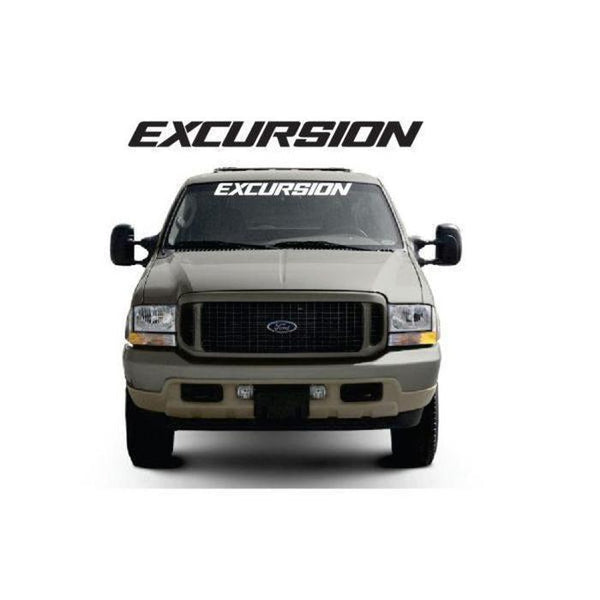 Ford Excursion Windshield Banner Decal Sticker