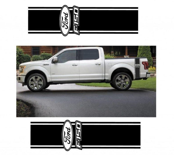 Ford F-150 F150 Sticker Set of 2 – Truck Decals