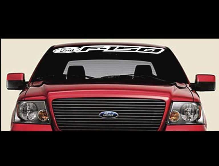 Ford F-150 F150 Windshield Banner Decal Sticker A1
