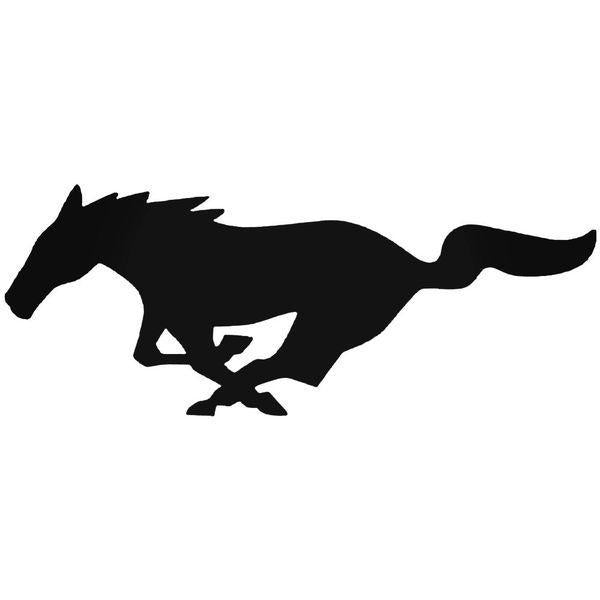 Ford Mustang Emblem Decal Sticker