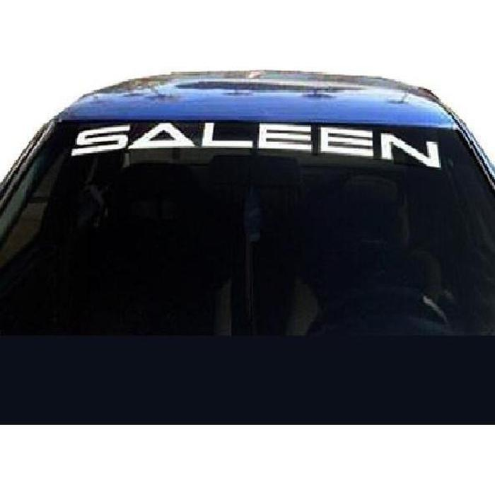 Ford Mustang Saleen Windshield Banner Decal Sticker