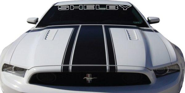 Ford Mustang Shelby Windshield Banner Decal Sticker A2