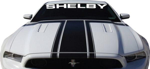 Ford Mustang Shelby Windshield Banner Decal Sticker