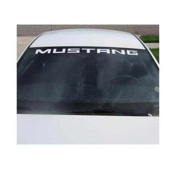 Ford Mustang Windshield Banner Decal Sticker