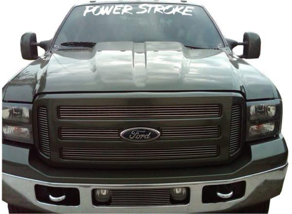 Ford Power Stroke Windshield Banner Decal Sticker