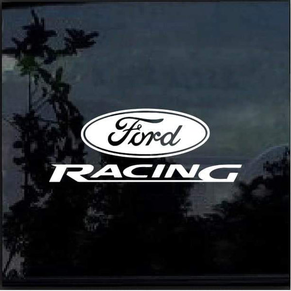 Ford Racing Car or Truck Window Decal Sticker Window Decal Sticker