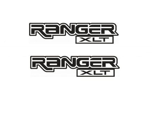 Ford Ranger Xlt bedside Sticker Set of 2 – 18 x 4.1 Truck Decals