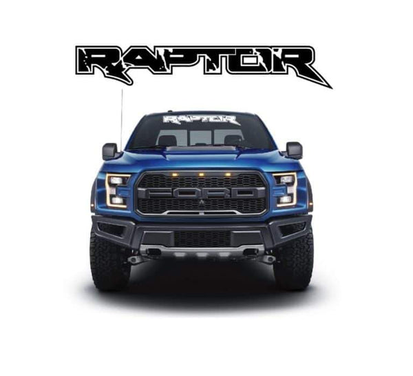Ford Raptor Windshield Banner Decal Sticker