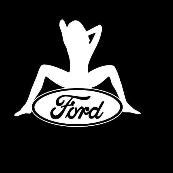 Ford Sexy Logo Truck Decal Sticker A2