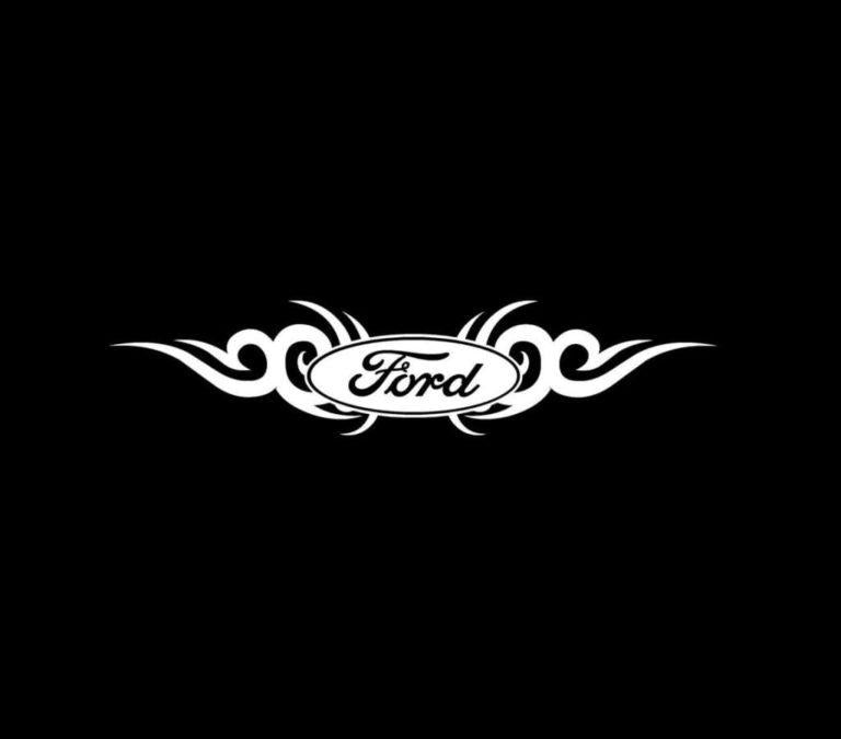Ford tribal Truck Decal Sticker