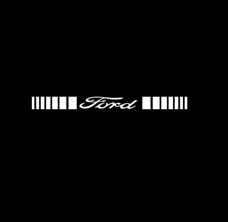 Ford Windshield Banner Decal Sticker