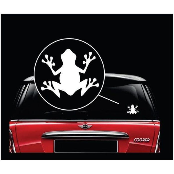 Frog Sticker – Frog Decal a3
