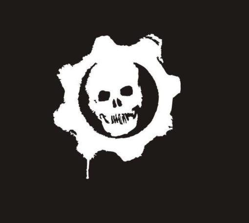 Gears of War Window Decal Sticker