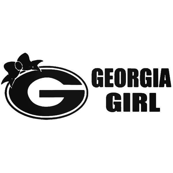 Georgia Girl Decal Sticker