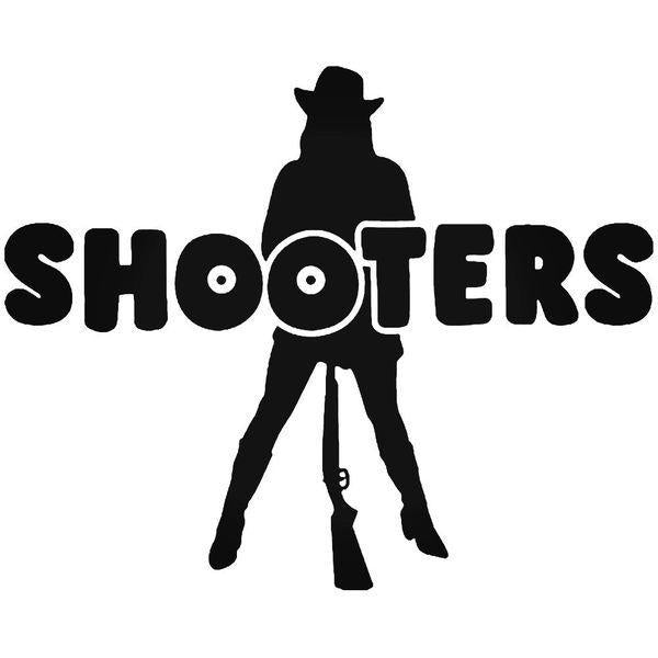Girl Shooters Vinyl Decal Sticker
