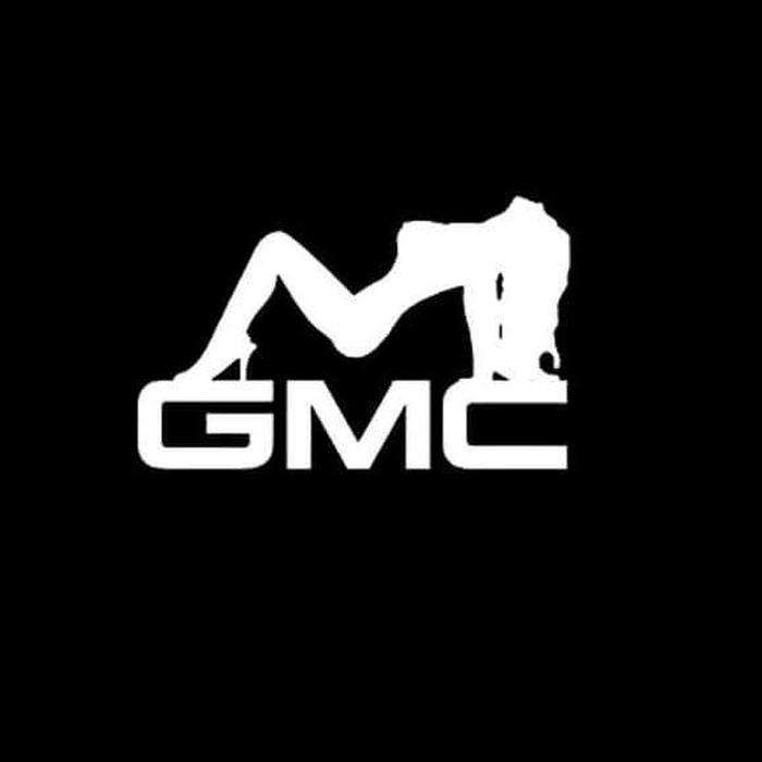 GMC Mudflap Girl Truck Decal Sticker A2