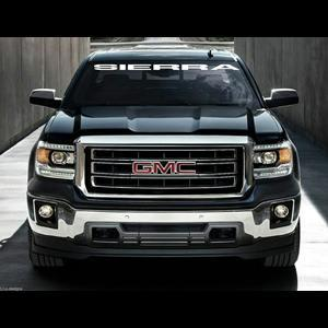 GMC Sierra Windshield Banner Decal Sticker