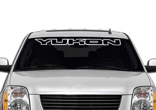GMC Yukon Windshield Banner Decal Sticker A2