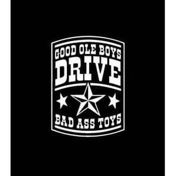 Gold Ole Boys Toys Truck Decal Sticker