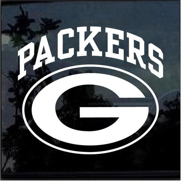 Green Bay Packers Window Decal Sticker