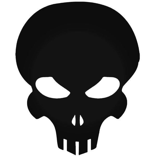 Halo Extermination Skull Decal Sticker