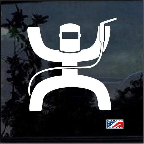 Hooey welder Welding Welder Decal Sticker