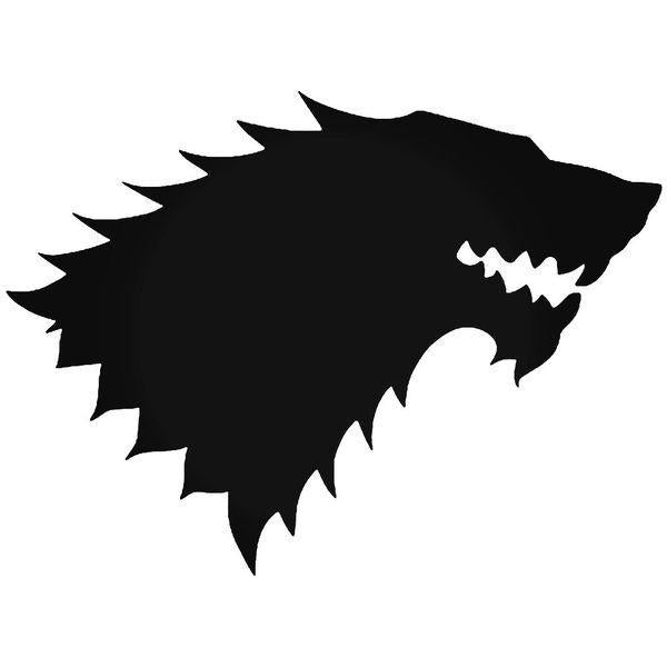 House Stark Game Of Thrones Decal Sticker