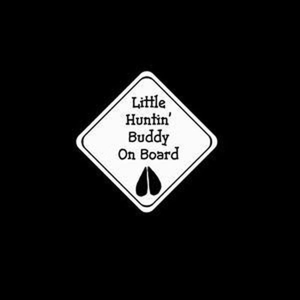 Hunting Buddy – Baby on Board Sticker