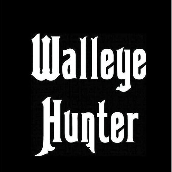 Hunting s – Walleye hunter Fishing Decal Stickers