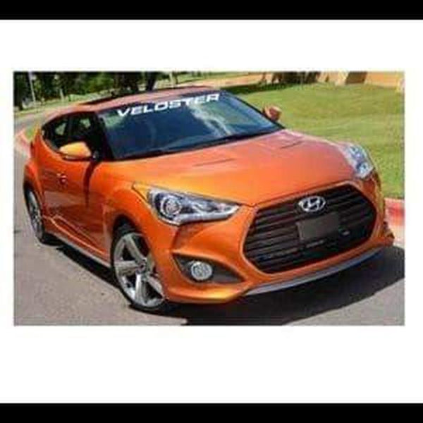 Hyundai Veloster Windshield Banner Decal Sticker