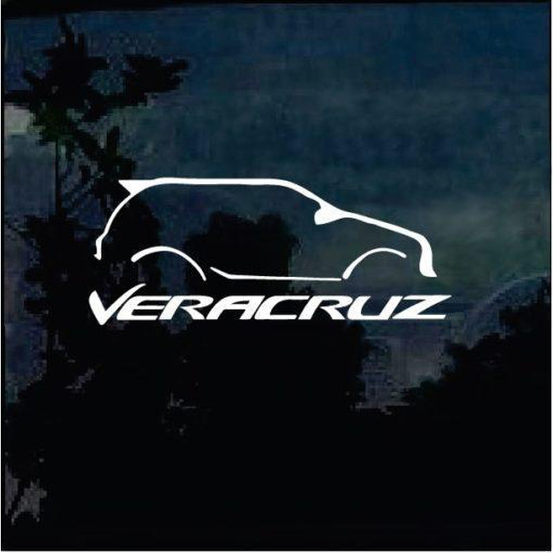 Hyundai Veracruze JDM Car Window Decal Stickers