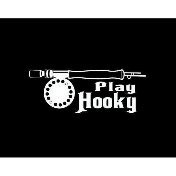 I play hooky Fishing Decal Stickers