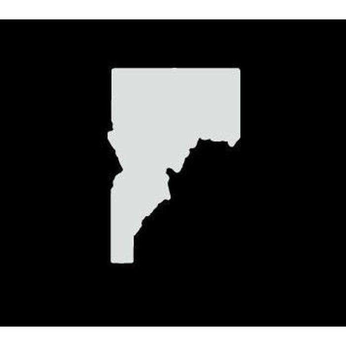 Idaho State Silhouette Truck Decal Sticker