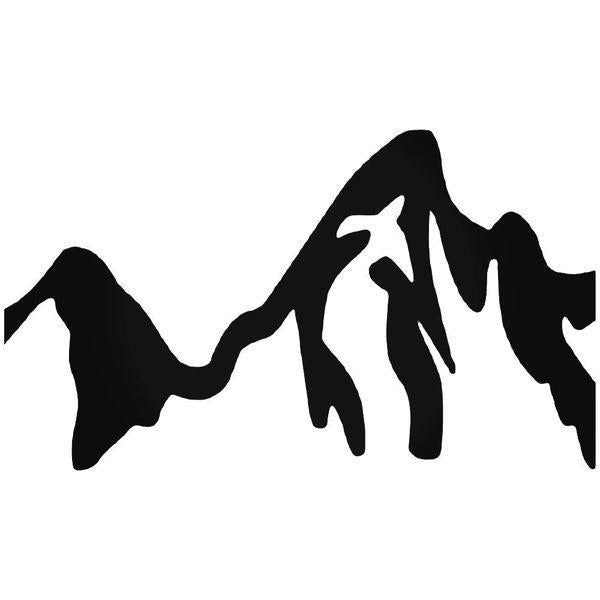 Jackson Hole Valley Wyoming Decal Sticker