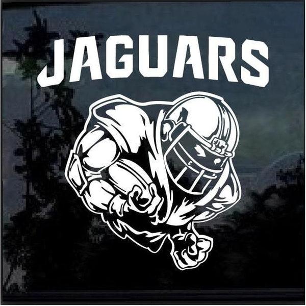 Jacksonville Jaguars Football player Window Decal Sticker
