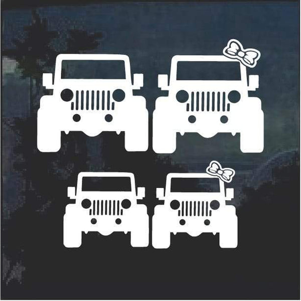 Jeep Family Jeep Decal Stickers