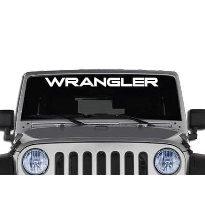 Jeep Wrangler Windshield Banner Decal Sticker A3