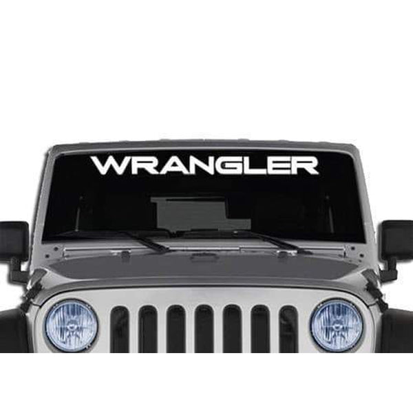 Jeep Wrangler Windshield Banner Decal Sticker