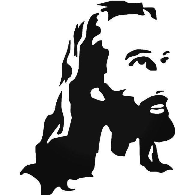 Jesus Decal Sticker