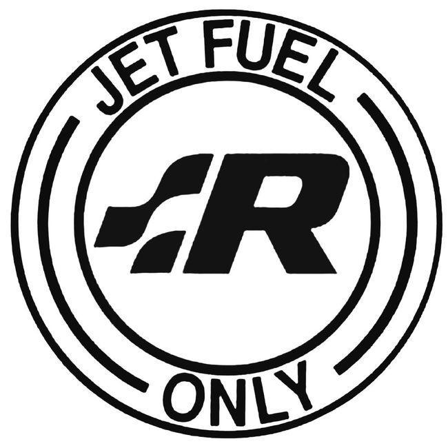 Jet Fuel Only Volkswagen R 2 Decal Sticker